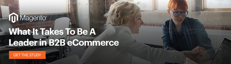 What it takes to be a leader in B2B eCommerce | Forrester Study