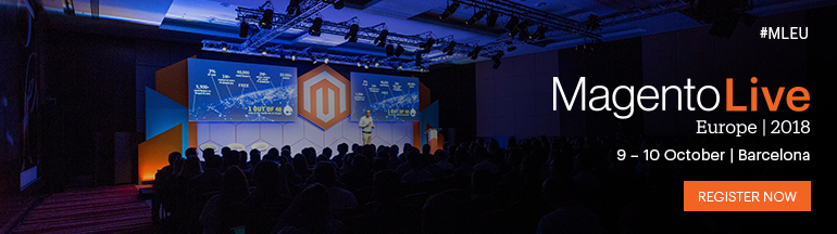 Register Now for MagentoLive Europe 2018