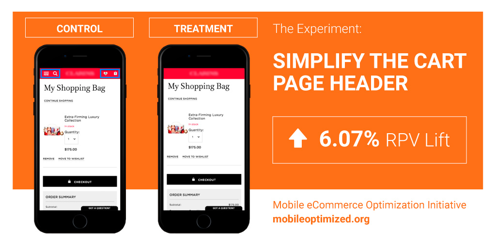 Mobile Commerce - Optimize