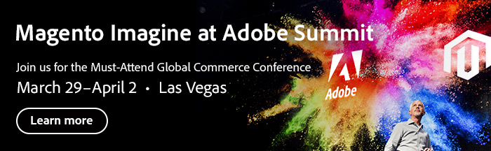 Register for Magento Imagind at Adobe Summit 2020