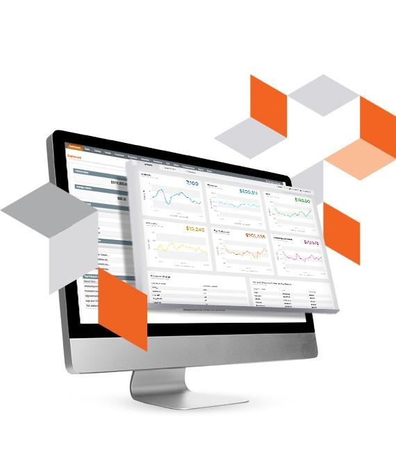 Magento Commerce 2 Dashboard