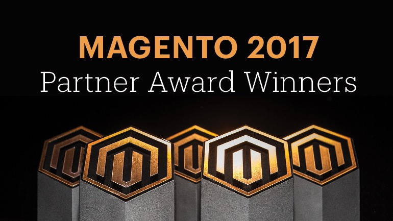 The 2017 Magento Partner Award Winners
